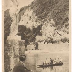 CALIMANESTI-Vedere spre Olt - Carte Postala Oltenia dupa 1918