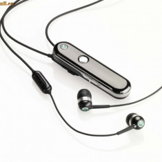 Casti Hands Free Bluetooth Wireless Stereo Multipoint SONY HBH-DS980 impecabile! - Handsfree GSM