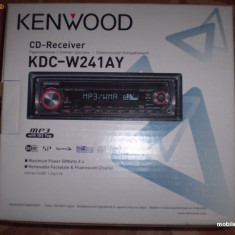 MP3 Player auto Kenwood KDC-W241AY- 220 lei - CD Player MP3 auto