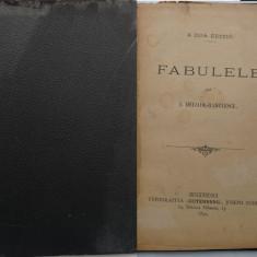 I. Heliade Radulescu , Fabulele , 1894