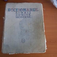 DICTIONARUL LIMBII ROMANE MODERNE ANUL 1958