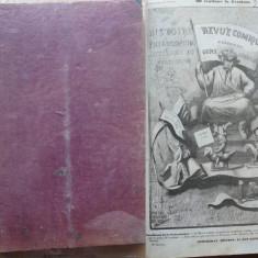 Revue comique , Istorie morala , filozofica , critica , literara , 1845, gravuri