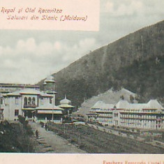 Ok-0833- Ro.Salut. Slanic Moldova, c.p. UPU necirc. apr.1902: Casino Regal - Carte Postala Moldova pana la 1904, Necirculata, Fotografie
