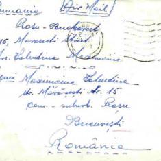 Plic circulat Anglia - Bucuresti, 1950, 1951, 1953