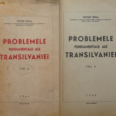 Victor Jinga, Probl. fundam. ale Ardealului, 1945, vol. 2 de sine statator - Carte Editie princeps