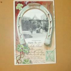 Carte Postala Litografie Elopatak Valcele Covasna