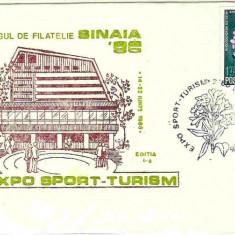 Plicuri speciale (set)  Targul de filatelie Sinaia 88, Expo Apararea naturii
