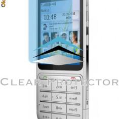 Folie ecran Nokia C3-01 - NOKIA C 3-01 - SUPER PVC 100% TRANSPARENT - Folie de protectie