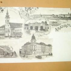 Carte Postala Litografie Arad
