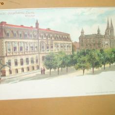 Carte Postala Litografie Timisoara Manastirea