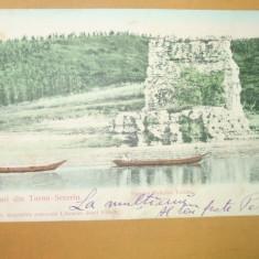 Carte Postala Salutari Turnu Severin Ruinele Podului Traian