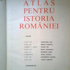Atlas Pentru Istoria Romaniei -PASCU STEFAN -MUSAT MIRCEA -Colectiv (1983)