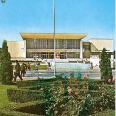 CP200-55 Ploiesti -Casa de cultura a sindicatelor -carte postala, circulata 1979 -starea care se vede - Carte Postala Muntenia dupa 1918