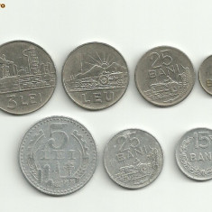 Moneda 25 bani 1966 3 lei 1966 5 lei 1978 - Moneda Romania