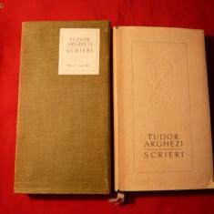 TUDOR ARGHEZI - SCRIERI , VOL.3 , EDITIE DE LUX 1962