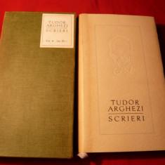 TUDOR ARGHEZI - SCRIERI , VOL.4 , EDITIE DE LUX 1963