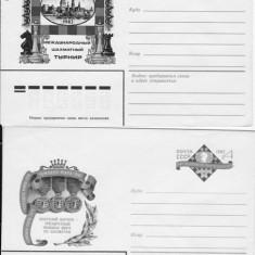ANSAMBLU DE 2 plicuri /timbrate / RUSSIA - RU 80 - Plic Papetarie