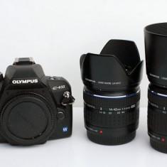 APARAT FOTO OLYMPUS E410 KIT 2 OBIECTIVE - DSLR Olympus, Kit (cu obiectiv), 10 Mpx, HD