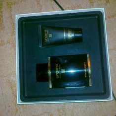 Set Ungaro Pour l l'homme III: apa de toaleta si gel de dus!!Original! - Set parfum