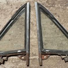 Set geamuri triunghiulare cu rama pt. Fiat 850 Sport - Geamuri auto