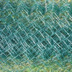 Plasa gard trasa in plastic verde