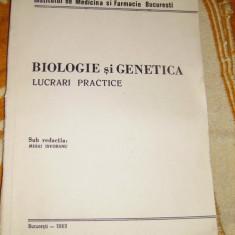 BIOLOGIE SI GENETICA
