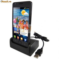 Dock cu USB si incarcator Samsung i9100 Galaxy S 2 - Dock telefon