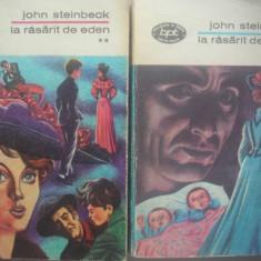 John Steinbeck - La rasarit de Eden - BPT - 2 vol, 1973
