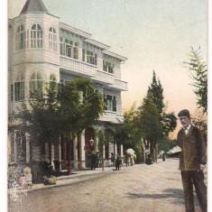 Carte postala-1908-Hotel Calipso din Constantinopole - Carte postala tematica