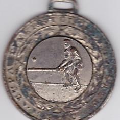 Medalie-CUPA TINERETULUI DE LA SATE 1970-OINA-locul II, cu defect - Medalii Romania