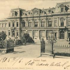 Bucuresti 1906 - Palatul Regal - expediata