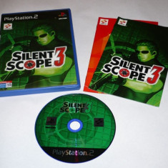 Joc Playstation 2 - PS2 - Silent Scope 3 - Jocuri PS2 Sony, Actiune, Toate varstele, Single player
