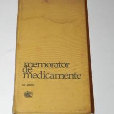 MEMORATOR DE MEDICAMENTE. UZ UMAN