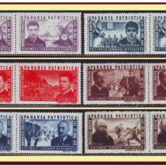 Romania 1945 - Apararea Patriotica, LP 168 perechi MNH - Timbre Romania, Istorie, Nestampilat
