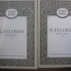 Nicole Filimon Opere {2 volume} A2