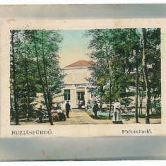 225 - Banat, BUZIAS, Pavilionul de cura - old postcard - used - 1911 - Carte Postala Banat 1904-1918, Circulata, Printata