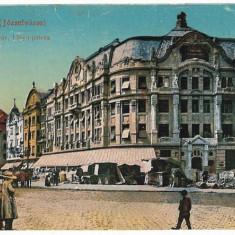 1355 - TIMISOARA, Demolari de buticuri in centru - old postcard - unused - 1917 - Carte Postala Banat 1904-1918, Necirculata, Printata