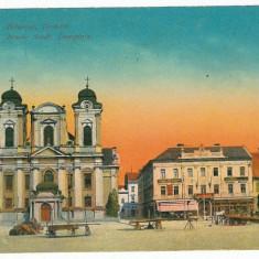 361 - TIMISOARA, Market - old postcard - used - 1929 - Carte Postala Banat dupa 1918, Circulata, Printata