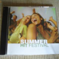 Summer hit festival CD DISC MUZICA POP DANCE HITURI EDITIE VEST compilatie