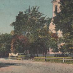 B25541 Ocna Mures strada Razboieni si Biserica rom-cat