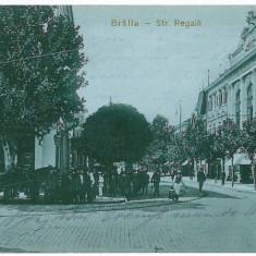 2067 - BRAILA - Str. REGALA, muscal, animata - used