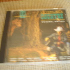 Country hits hituri various compilatie muzica country blues CD disc editie vest