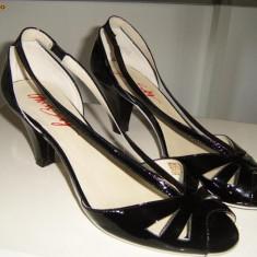 Sandale cu toc Miss Sixty - Sandale dama Miss Sixty, Negru, Marime: 39