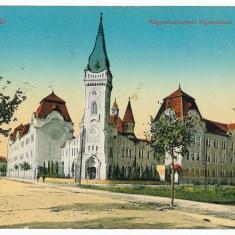 1595 - TIMISOARA, Gymnasium Order - old postcard - used - 1913 - Carte Postala Banat 1904-1918, Circulata, Printata