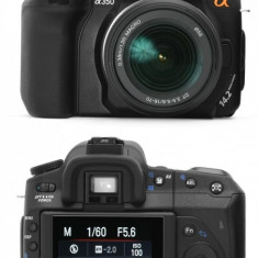 Sony A350 - DSLR Sony, 14 Mpx, Full HD