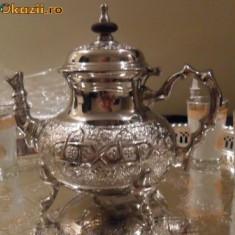 Vand Ceainic din Maroc..Forma Superb a - Metal/Fonta