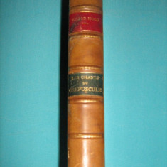 VICTOR HUGO - LES CHANTS DU CREPUSCULE , HETZEL - 1880