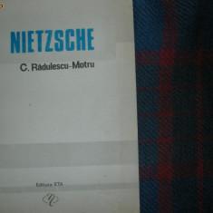 NIETZSCHE (sinteza operei ) - C. Radulescu Motru