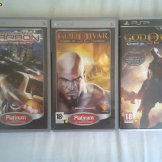 Jocuri PSP Electronic Arts God of War si NFS, Curse auto-moto, 12+, Single player