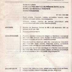 STANDARD ROMANESC STAS 1728 - CUPLAJE PNEUMATICE - Diploma/Certificat